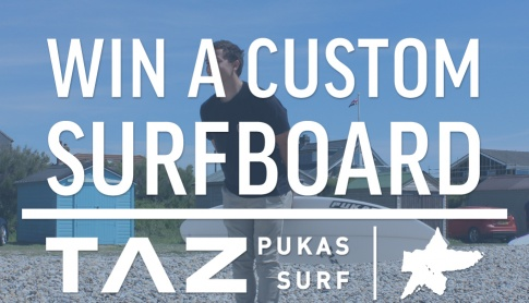 Win a Taz shaped board of your choice from Pukas