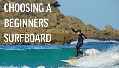 Choosing A Beginners Surfboard