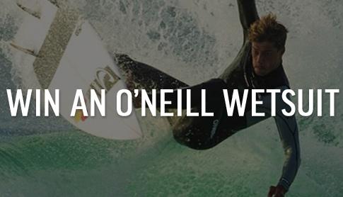 Win an O'Neill Wetsuit