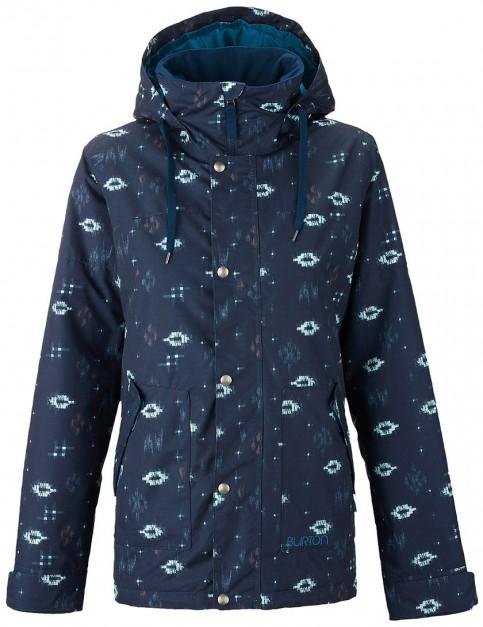 Burton Ginger Ladies snowboard jacket - Submarine Ikat