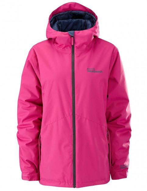 Westbeach Ladies Twist snowboard jacket - Raspberry