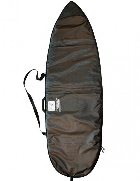 Channel Islands Dane Day Runner 3mm Surfboard bag 5ft 8 - Blk/Chartreuse Yellow