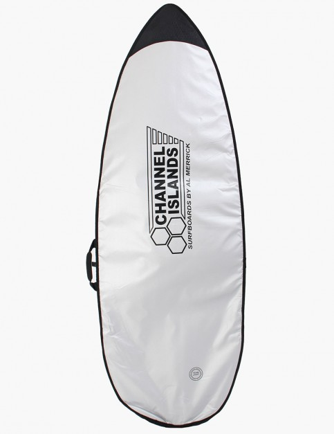 Channel Islands Team Light Shortboard 5mm Surfboard bag 5ft 8 - Silver