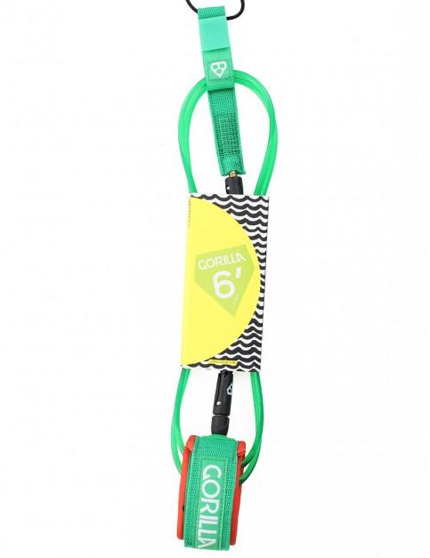 Gorilla Comp surf leash 6ft - Melon