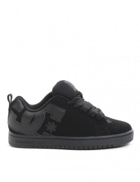DC Court Graffik shoes - Black/Black