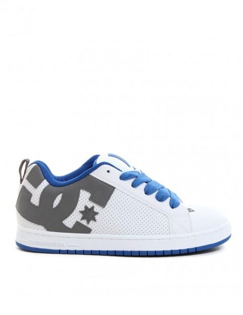 DC Court Graffik shoes - White/Blue/Grey