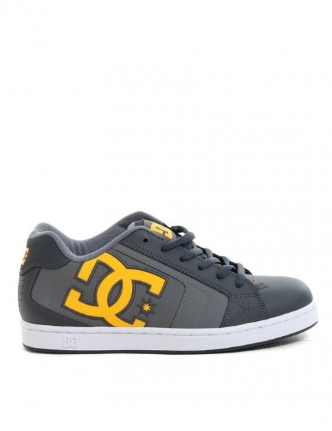 DC Net shoes - Grey/Yellow