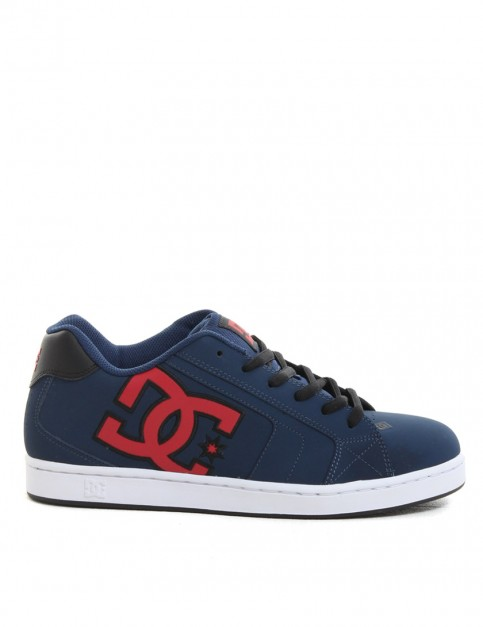 DC Net shoes - Navy/Red