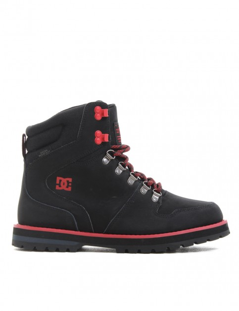 DC Peary boots - Black/Red