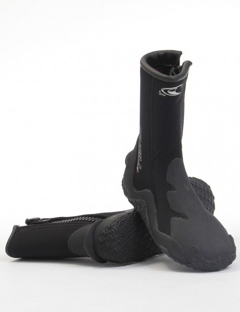 Oneill Wetsuits Boot With Zipper 5mm Wetsuit boots - Black