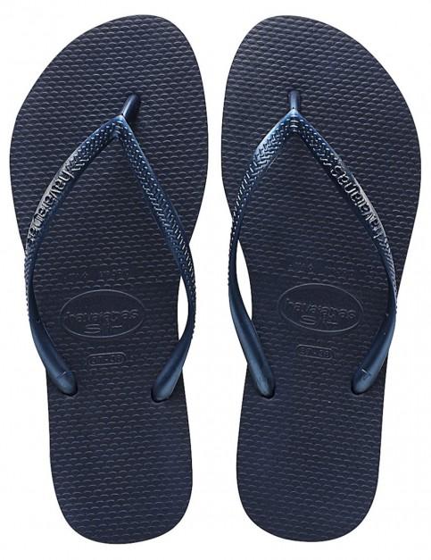 Havaianas Slim Ladies flip flops - Navy Blue