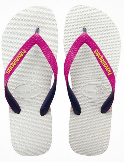 Havaianas Top Mix Flip Flop - White/Pink