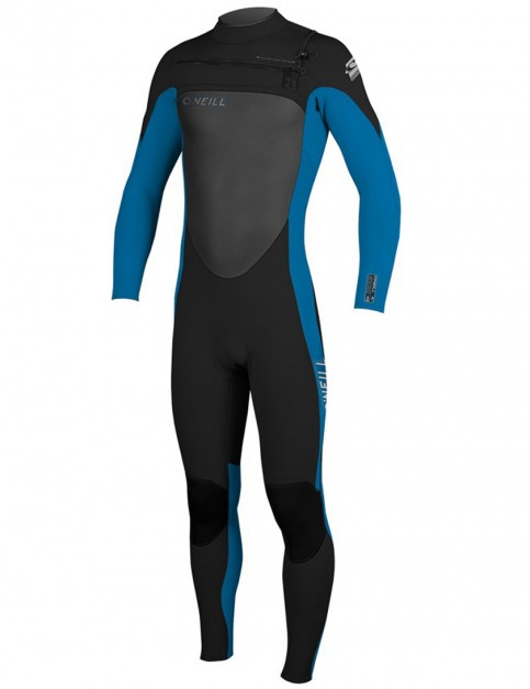 Oneill Wetsuits Youth SuperFreak 3/2mm Summer 2015 - Black/Bright Blue/Black