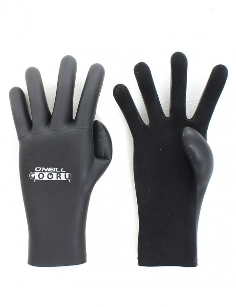 O'Neill Gooru 3mm Wetsuit Gloves - Black