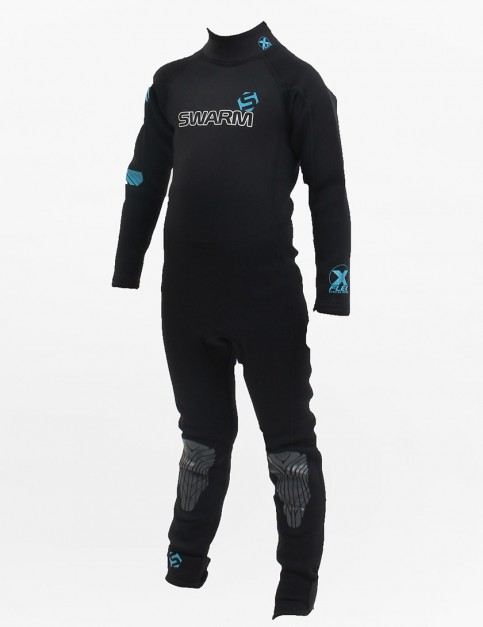 Swarm Wetsuits Kids Fullsuit 3/2mm Summer 2015 - Blue/Black