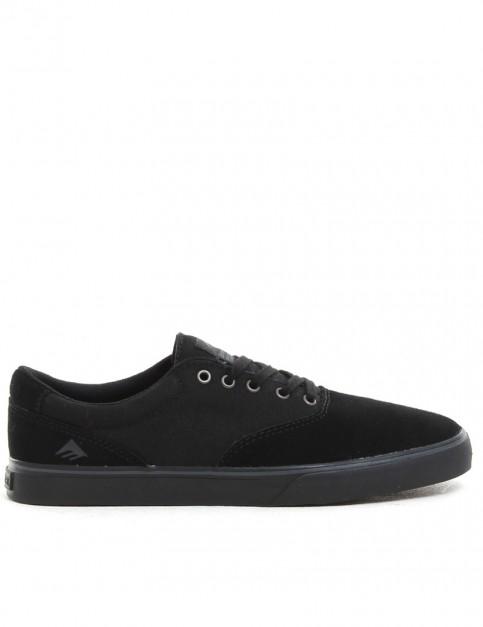 Emerica Provost Slim Vulc Shoes - Black/Black