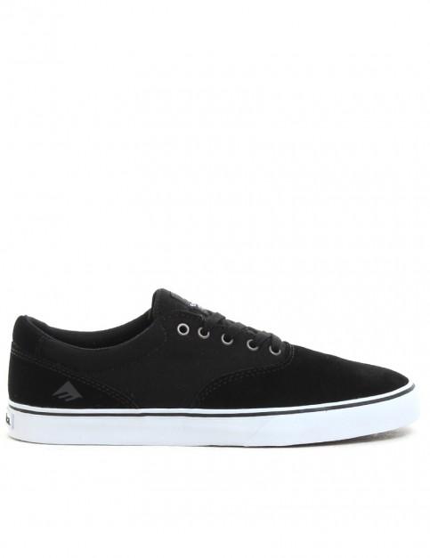Emerica Provost Slim Vulc Shoes - Black/White
