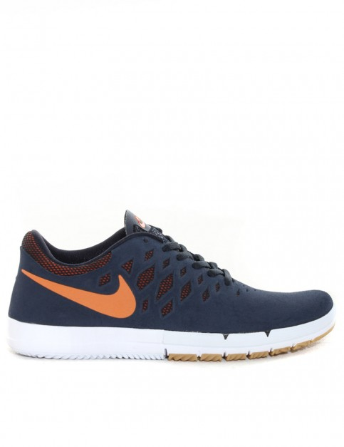 Nike SB Free SB Shoes - Dark Obsidian/Orange