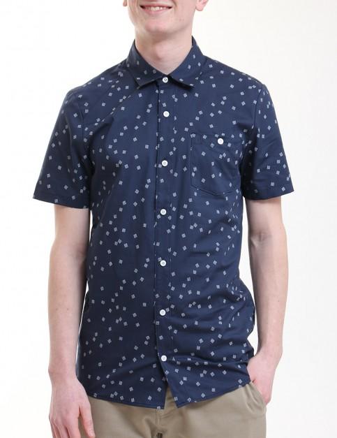 Volcom Everett Print Short sleeve shirt - Navy
