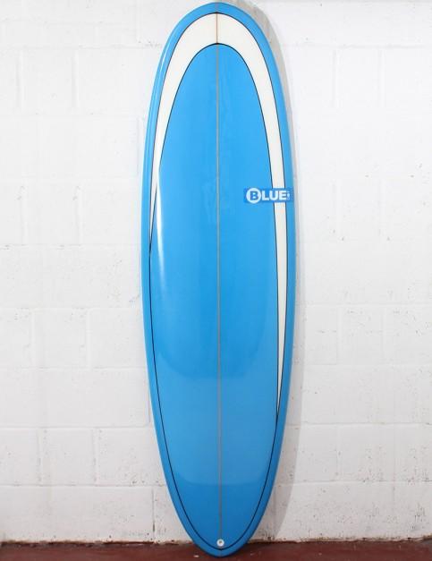 Blue Dot Retro Rug Surfboard 6ft 6 - Blue