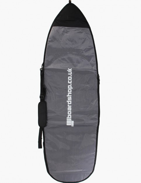 Boardshop Hybrid 5mm 6ft 9 Surfboard bag - Grey