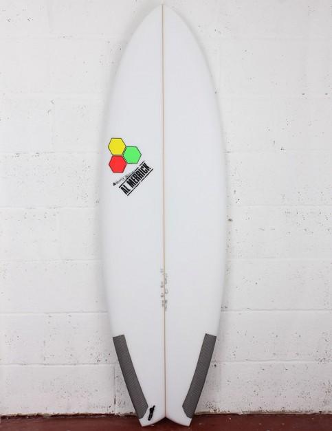 Channel Islands Pod Mod Surfboard 5ft 10 FCS II - White