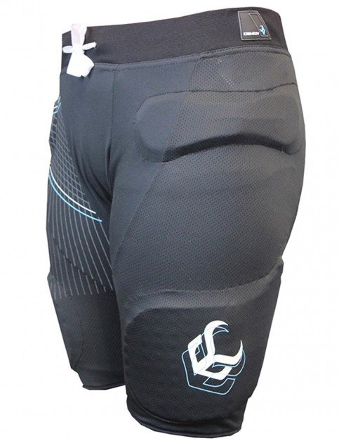 Demon Flex-Force X D3O Ladies padded snowboard shorts - Black