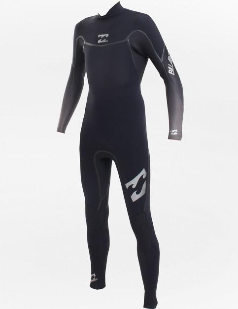 Billabong Wetsuits Revolution Back Zip 3/2mm Fullsuit - Black/Black/Charcoal Fade