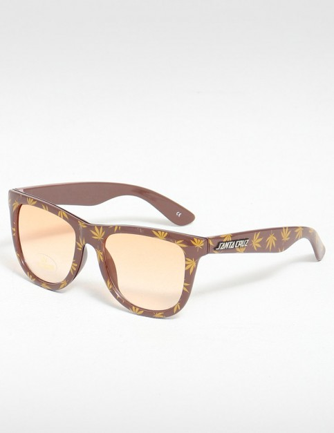 Santa Cruz High Life Sunglasses - Caramel