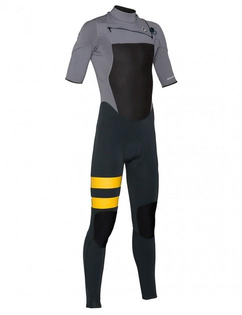 Hurley Wetsuits Fusion Short Sleeve Fullsuit 2/2mm Summer 2015 - Aviator Grey