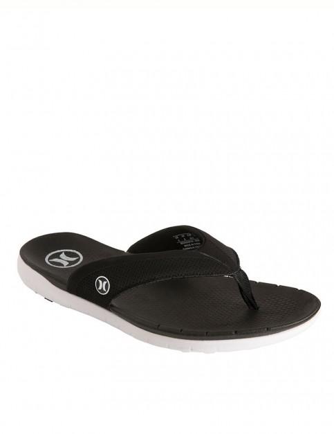 Hurley Phantom Free Sandals - Black/White
