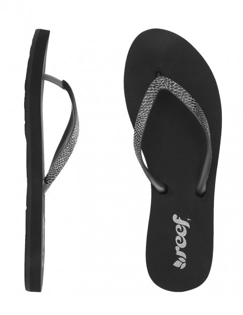 Reef Stargazer Sassy Ladies Flip flop - Black/Silver
