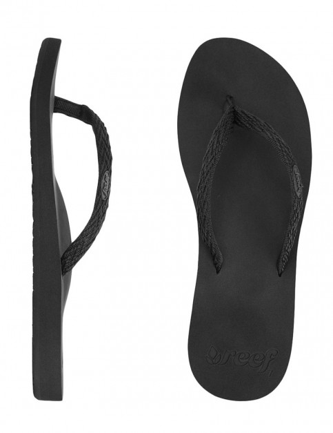 Reef Ginger Drift Ladies Flip flop - Black/Black