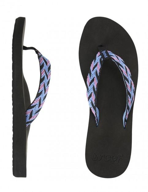 Reef Mid Seas Ladies flip flops - Black/Blue