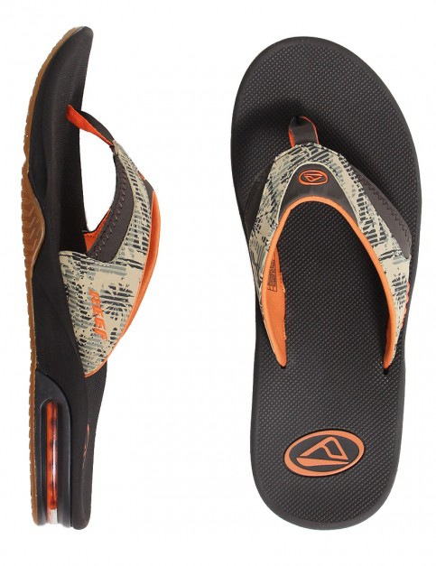 Reef Fanning Prints Sandal - Palm Camo Brown