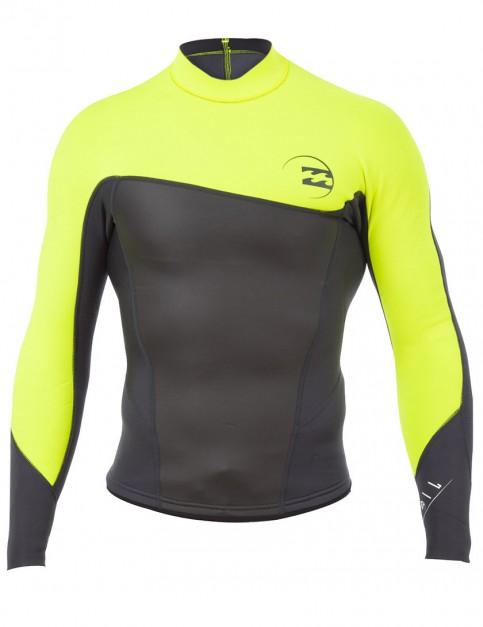 Billabong Wetsuits Foil Jacket 2mm Summer 2015 - Yellow