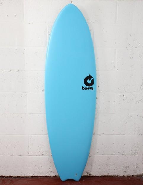 Torq Mod Fish Soft & Hard Surfboard 5ft 11 - Blue
