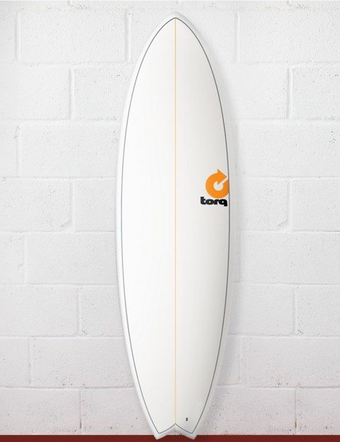 Torq Fish Surfboard 5ft 11 - Pin Lines