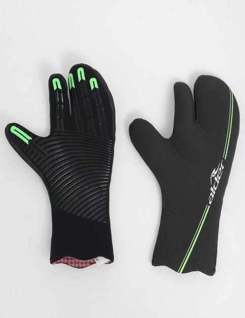 Alder Plasma FastDry Lined Claw Mitt 4.5mm Wetsuit gloves - Black