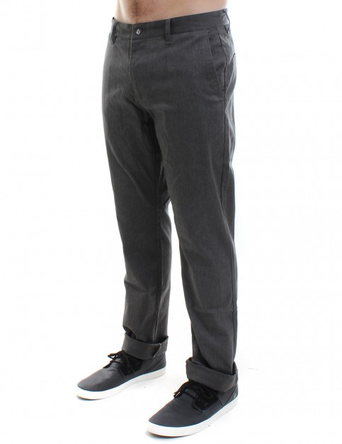Volcom Frickin Modern Stretch Chinos - Charcoal Heather