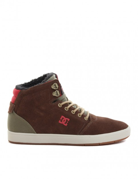 DC Crisis High WNT mid tops - Chocolate/Green