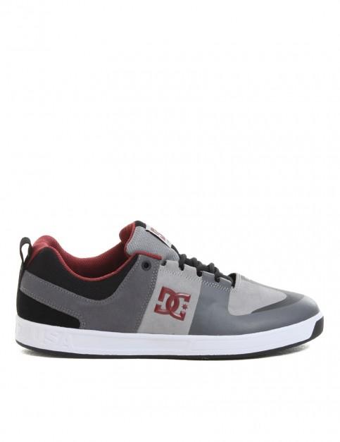 DC Lynx Prestige shoes - Grey/Black/Red