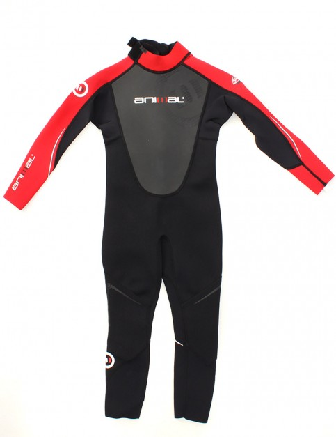 Animal Toddler Amp 3/2mm Wetsuit - Red/Black/White