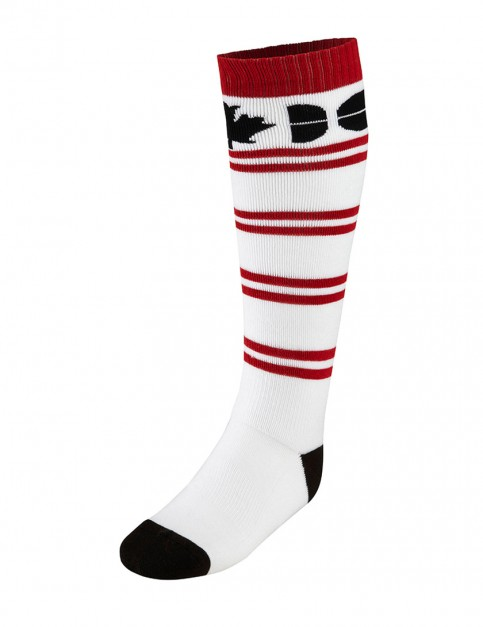 Westbeach Stripe snow socks - White