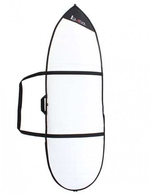 Global Day Hybrid 3mm surfboard bag 6ft 9 - White