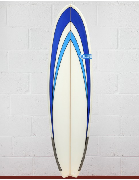 Blue Dot Fish Surfboard 6ft 3 - Blue Nose