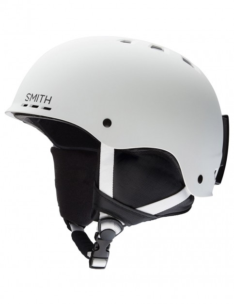 Smith Holt  helmet - Matte White