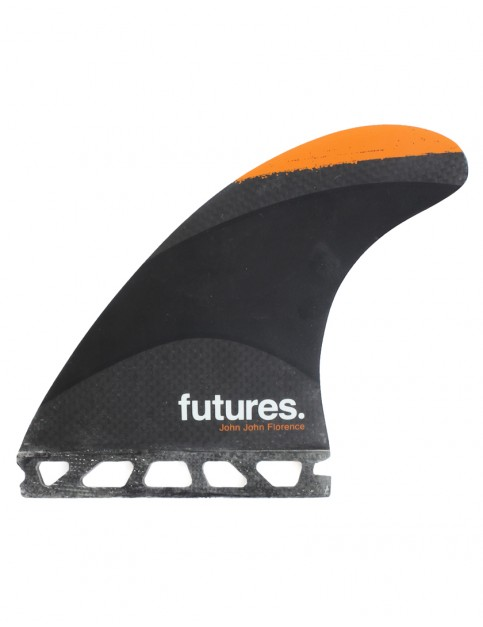 Futures John John Florence Techflex Thruster Fin Set Medium - Orange Tip