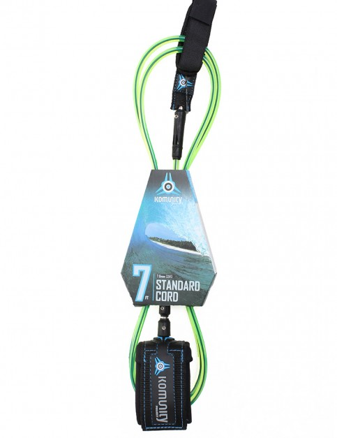 Komunity Project Standard Cord surf leash 7ft - Lime