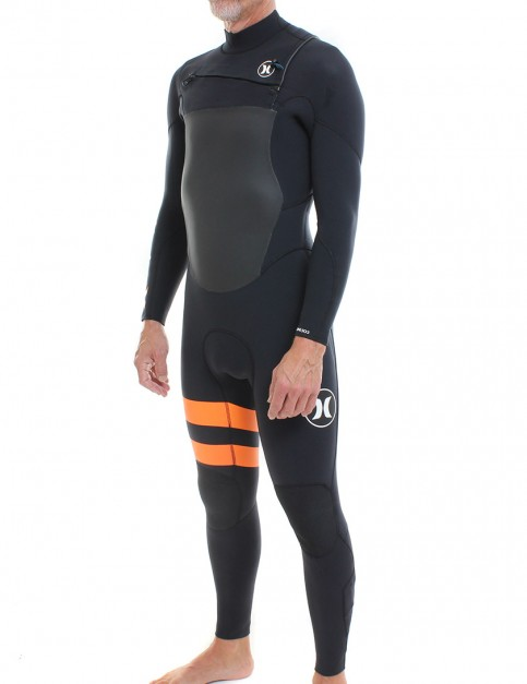 Hurley Fusion 5/3mm Wetsuit 2016 - Black/Orange